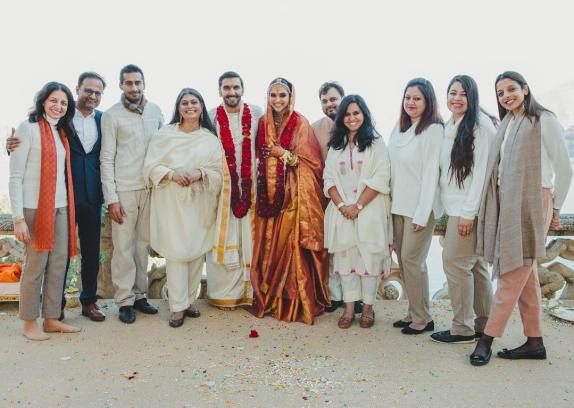 wedding company design team