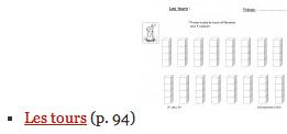 Fiches recherches de Math 3P