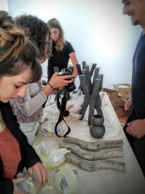 %enseignement Design Marseille Philippe Delahautemaison Agnès Martel Esadmm Installation à la Galerie Joseph, Paris - D'DAYS 2016