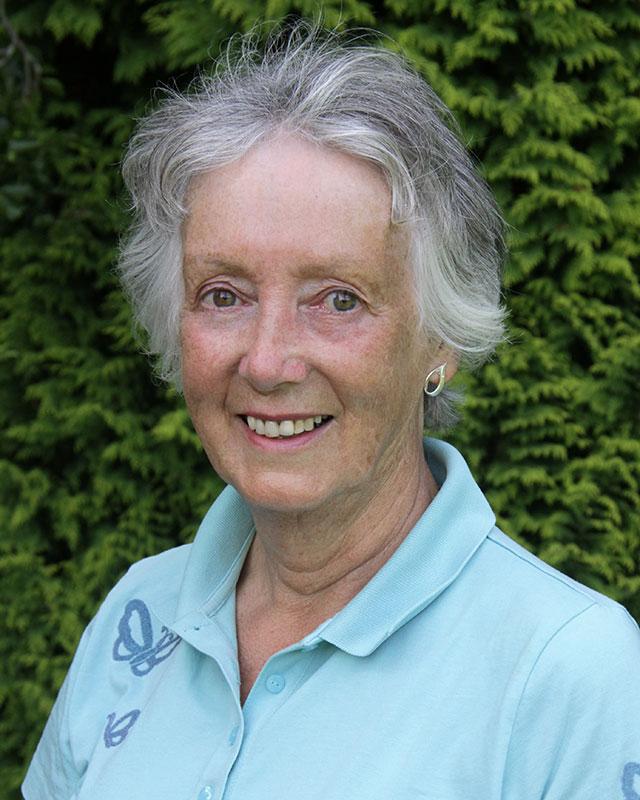 Lady Vice Captain, Margaret Gordon.