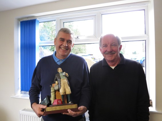 Jack Hetherinton Trophy winners Jeff Clapperton and Jim Roberts