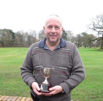 Steve Brown Seniors KO winner