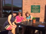 Girls on the Patio