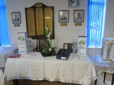 Lady Captain's Day prize table