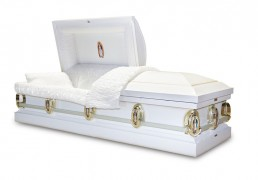 Low priced coffin