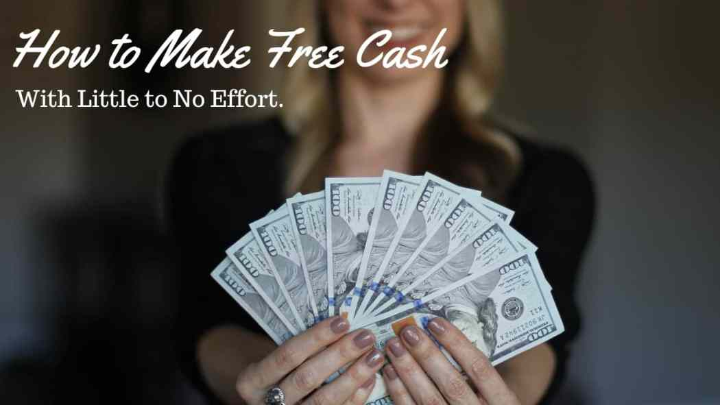 How to earn extra money with very little effort for things you would do anyway