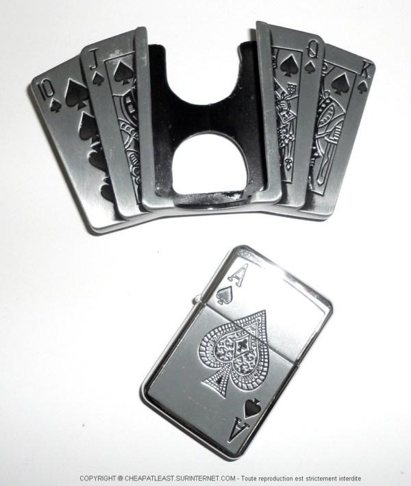 Cheap Belt Buckle Lighter Holder - Poker Addict