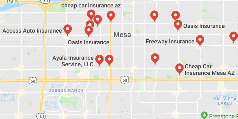 Cheap Car Insurance Mesa Arizona  Best Rate Quotes