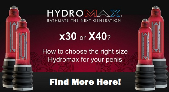 bathmate hydromax x30 vs x40 - comparison
