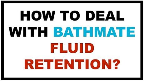 bathmate hydro pump water retention