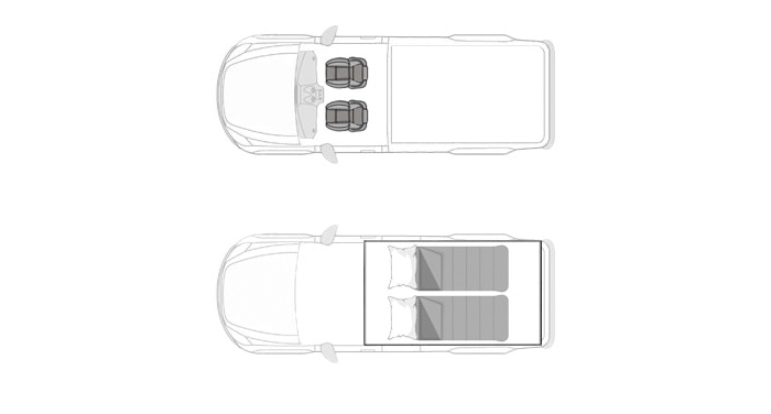Bushlore Toyota Landcruiser 79 camper huren in Afrika