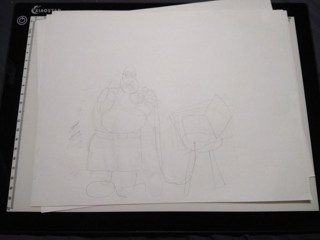 Crappy original sketch