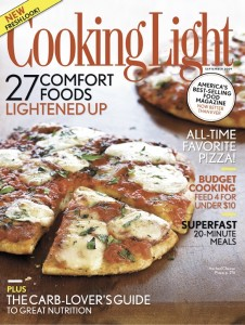 Cooking Light Sept Cover