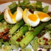 Asparagus, Bacon and Soft Boiled Egg Salad Recipe from Around My French Table