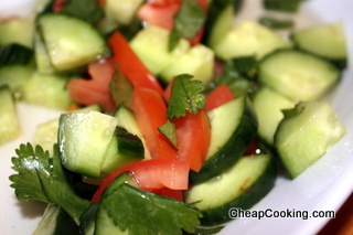 Simple Salads – This with a Thai Inspiration