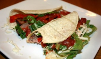 Steak Tacos with Lime Mayo from Cooking Light