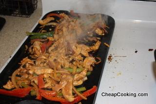 Jamie Oliver's Chicken Fajitas