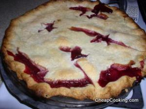 indian blood peach pie