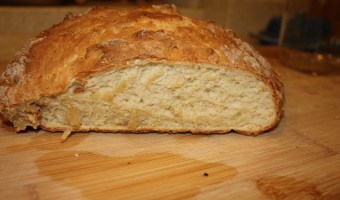 Irish Soda Bread and Vegetable (Mostly) Soup