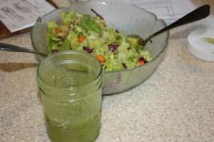 lime-cilantro salad dressing
