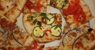 Pizzettas!  Small Pizzas with Loads of Flavor