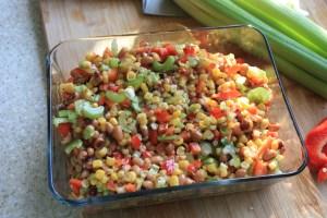 corn and black-eyed pea salad