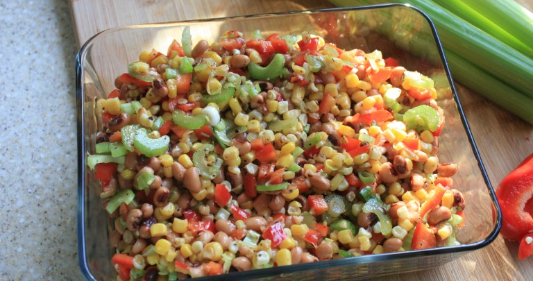 Corn and Black-Eyed Pea Salad from A Gracious Plenty