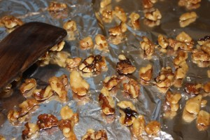 Caramelized Nuts for Salads