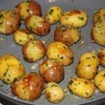 sauteing potatoes