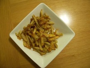 oven-fried potatoes
