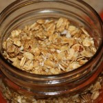 cherry and coconut small batch granola