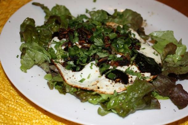eggs with tamarind sauce