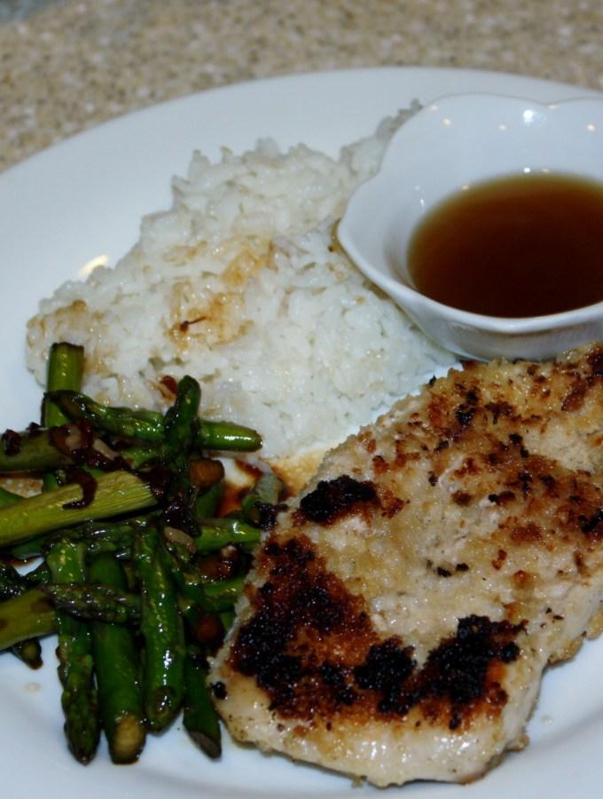 Vietnamese Garlicky Pork and Stir-Fried Asparagus