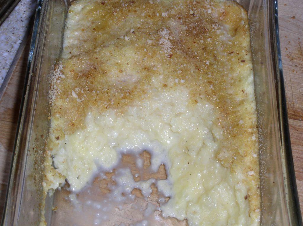 creamy baked cauliflower