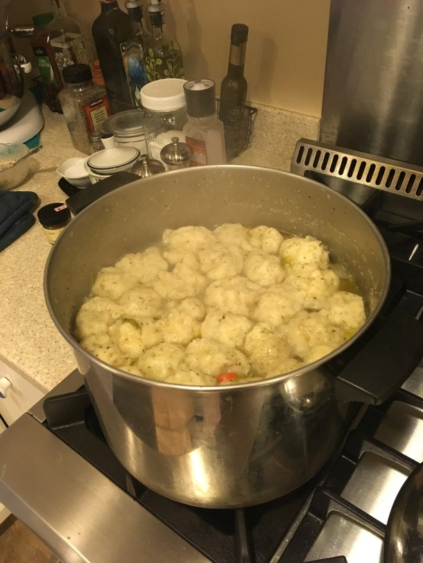 chicken and drop dumplings