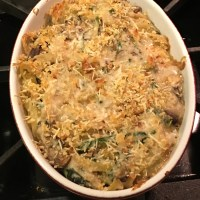 Chicken Tetrazzini for Two