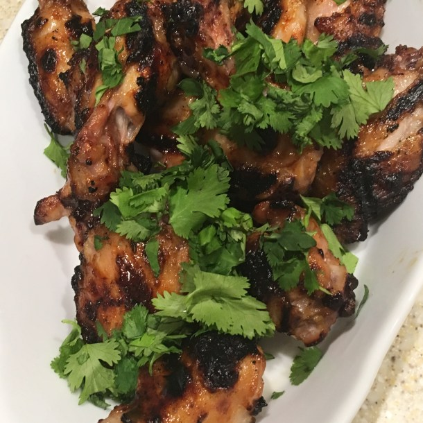 Grilled Thai-Glazed Chicken Wings