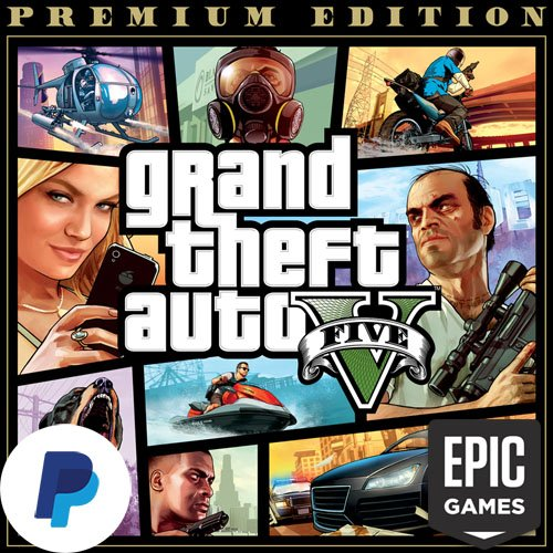 Epic Games Account With Gta V Premium Edition