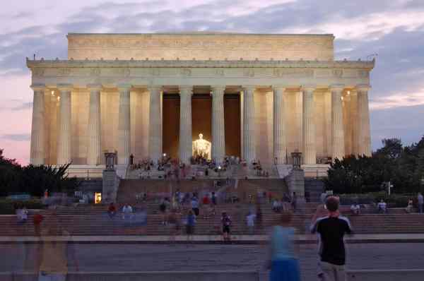 Lincoln Memorial Monument in Washington DC