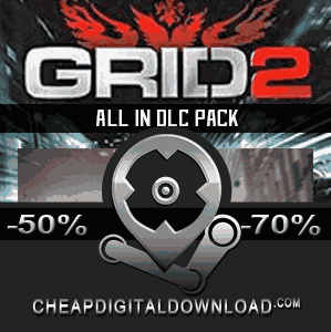 GRID 2 All In DLC Pack Digital Download Price Comparison - CheapDigitalDownload.com