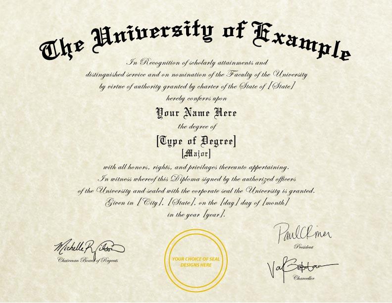 Fake College University Diplomas Cheaper Than Tuition