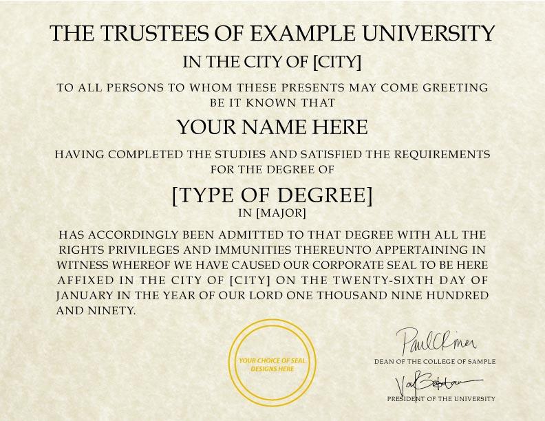 fake diploma template d 15