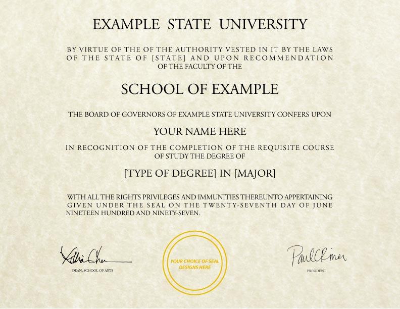 fake diploma template d 16