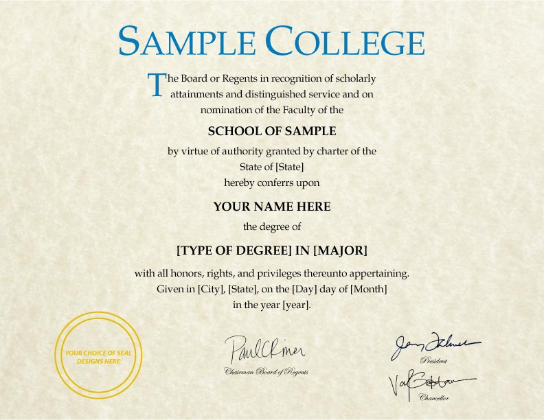 FAKE DIPLOMAS CERTIFICATES College University Replicas - Fake bachelor degree template