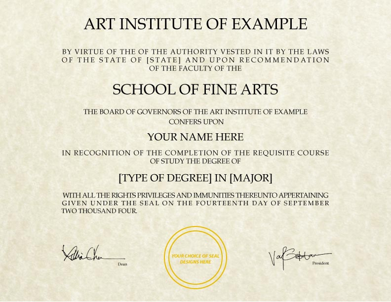 fake diploma template d 29