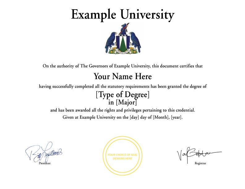 Fake Diplomas Certificates College University Replicas