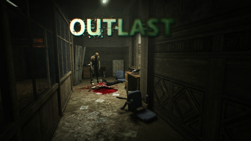 THE BEST HORROR GAMES FOR PS4 - OUTLAST