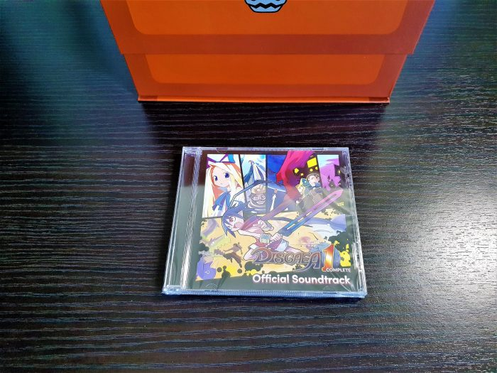 DISGAEA 1 CD CASE FRONT