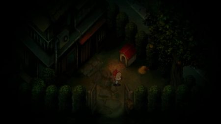 Yomawari review two girls picture