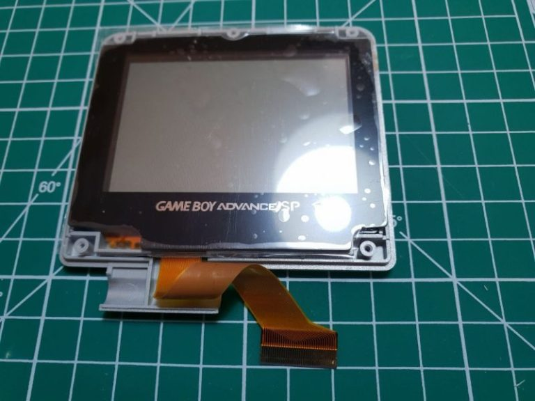 GBA SP NEW LENS